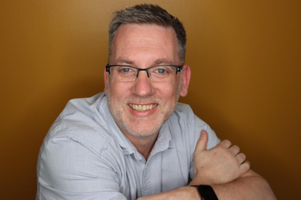 headshot of Kevin Bowersox-Johnson